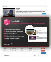 VideoPublisher - Multipurpose Video News | Reviews publisher
