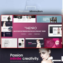 Wenro-Multipurpose Responsive Opencart Theme