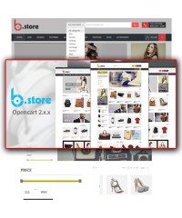 BStore - Responsive OpenCart Theme