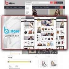BStore - Responsive OpenCart Theme