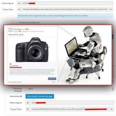 Скачать Facebook Auto Post на сайте rus-opencart.info