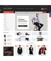 Love Fashion-Responsive Multipurpose OpenCart Theme