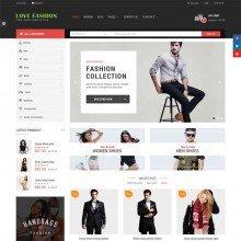 Love Fashion-Responsive Multipurpose OpenCart Theme