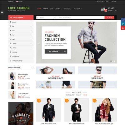 Скачать Love Fashion-Responsive Multipurpose OpenCart Theme на сайте rus-opencart.info