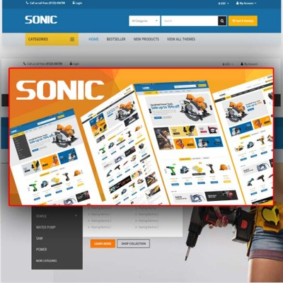 Скачать Sonic-Responsive Opencart Theme на сайте rus-opencart.info