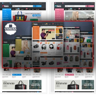 Скачать Vanesa-Mega Store Responsive Opencart Theme на сайте rus-opencart.info