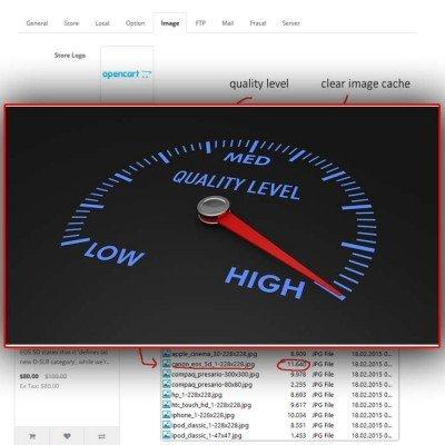 Скачать Image Quality Level(compresson) на сайте rus-opencart.info