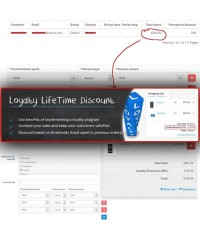 Loyalty LifeTime Discount