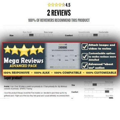 Скачать Mega Reviews на сайте rus-opencart.info