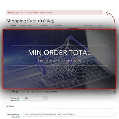 Скачать Min Order Total на сайте rus-opencart.info