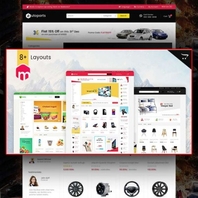 Скачать Mega Shop-Opencart Multi Purpose Responsive Theme на сайте rus-opencart.info