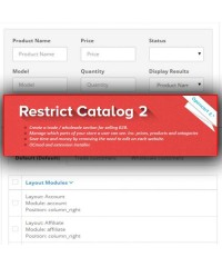 Restrict Catalog By Customer Group 2