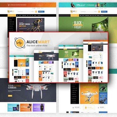 Скачать Alice-Multipurpose Responsive Opencart Theme на сайте rus-opencart.info