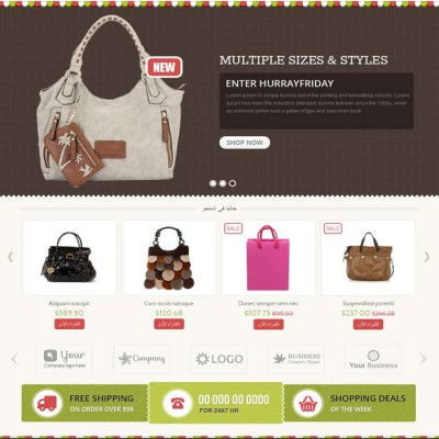 Скачать Bag Shop-OpenCart Responsive Theme на сайте rus-opencart.info