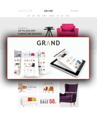 Grand-Responsive Furniture Opencart Theme