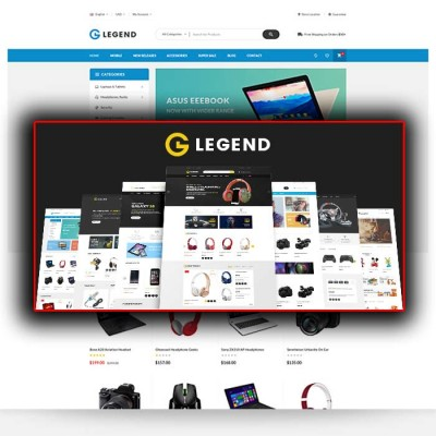 Скачать Legend-Multipurpose Responsive Opencart Theme на сайте rus-opencart.info