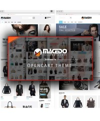 Macedo-Fashion Responsive Opencart Theme