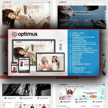 Optimus-Flexible Responsive OpenCart Theme