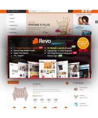 Revo-Drag & Drop Multipurpose OpenCart Theme