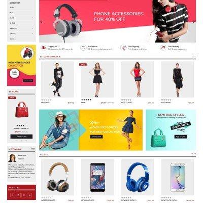 Скачать Shopnow Premium Multi Purpose Theme на сайте rus-opencart.info