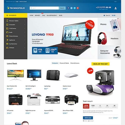 Скачать Technopolis-Electronics Store OpenCart Theme на сайте rus-opencart.info