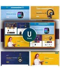Urani-Multipurpose Responsive Opencart Theme