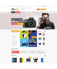Dilima-Mega Store Responsive OpenCart Theme