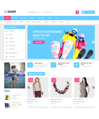 G2shop-Digital eCommerce OpenCart Theme