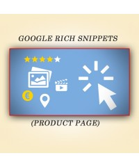 Google Rich Snippets (Product Page)