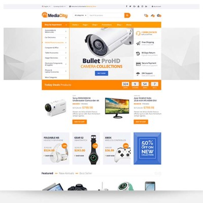 Скачать MediaCity-Technology Responsive Opencart Theme на сайте rus-opencart.info