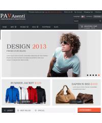 Pav Asenti Responsive Opencart Theme