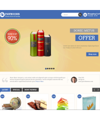 Pav Books Responsive Opencart Theme