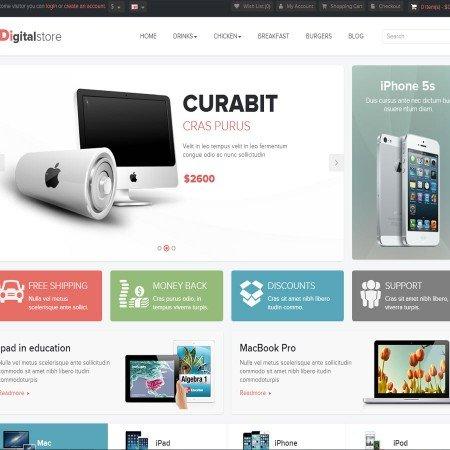 Скачать Pav Digital Store Responsive Opencart Theme на сайте rus-opencart.info