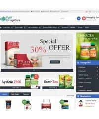 Pav DrugStore Responsive Opencart Theme