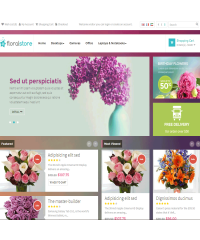 Pav Floral Responsive Opencart Theme