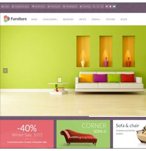 Скачать Pav Furniture Responsive Opencart Theme на сайте rus-opencart.info