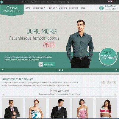 Скачать Pav Model Responsive Opencart Theme на сайте rus-opencart.info