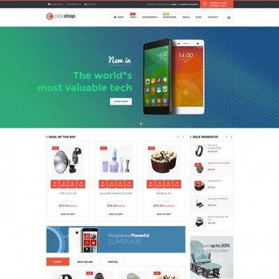 Скачать Pav ClickShop responsive Opencart theme на сайте rus-opencart.info