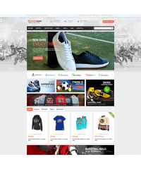 Pav SportShop Responsive Opencart Theme