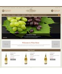 Pav Wines Responsive Opencart Theme