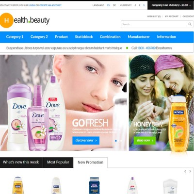 Скачать Boss Healthy & Beauty Responsive OpenCart Theme на сайте rus-opencart.info
