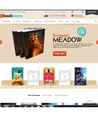 Book Store Responsive OpenCart Theme