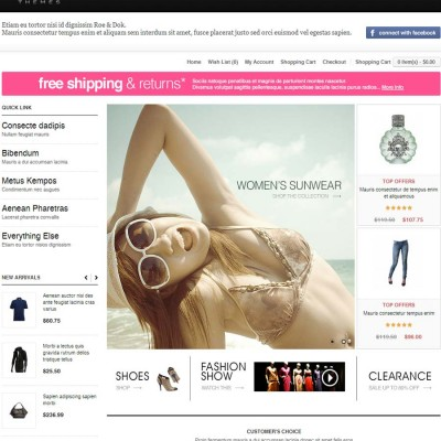 Скачать Fashion Mall OpenCart Theme - RoeDok на сайте rus-opencart.info
