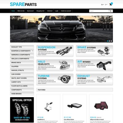 Скачать Auto Store OpenCart Template на сайте rus-opencart.info
