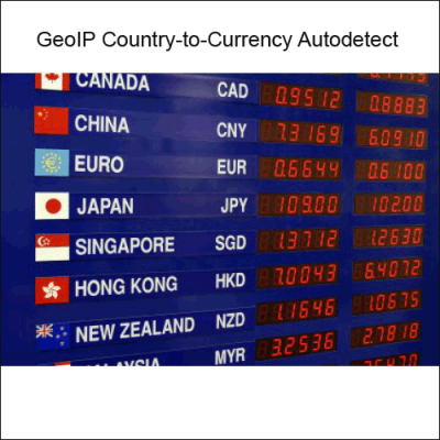 Скачать GeoIP Country to Currency Autodetect на сайте rus-opencart.info