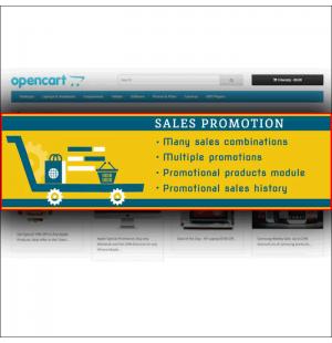 Скачать Sales Promotion - Many Combinations, Стимулирование сбыта, акции на сайте rus-opencart.info