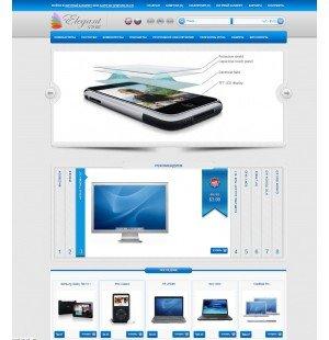 Скачать Elegant для сборки MaxyStore на сайте rus-opencart.info