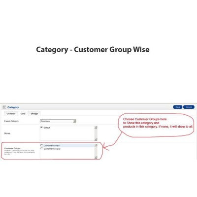 Скачать Category - Customer Group Wise на сайте rus-opencart.info