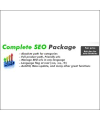 Complete SEO Package - Full featured SEO with Friendly urls