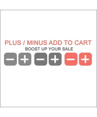 Plus Minus Increase Decrease Quantity Add To Cart (vQmod)
